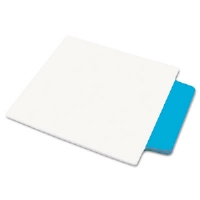 NoteTabs-Notes, Tabs and Flags in One, Neon Blue/Clear, Three Inch, 10/Pack