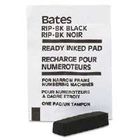 Ready-Inked Pad for Multiple/Lever Movement Numbering Machine, Black
