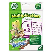 LeapFrog Flash Cards, Multiplication, 4 3/4 x 6, 55 Cards