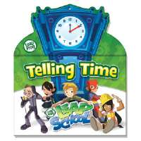 SmartDudes LeapFrog Tell Time Dry Erase Book, 14 Pages