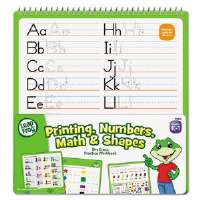 SmartDudes LeapFrog Activity Book, Printing/Numbers/Math/Shapes, Dry Erase