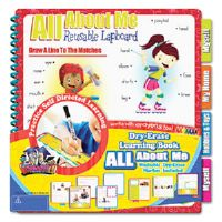 SmartDudes Printing Learning Book, About Me, Six Pages, Grade K and Up