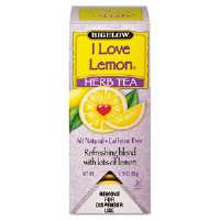 Single Flavor Tea, I Love Lemon, 28 Bags/Box