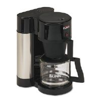 10-Cup Professional Home Coffee Brewer, Stainless Steel, Black