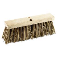 "Street Broom Head, 16"" Head, Palmyra Bristles"