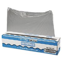 "PVC Food Wrap Film Roll, 24"" x 2000ft, Clear"