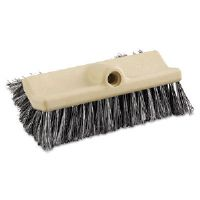 "Dual-Surface Vehicle Brush, 10"", Brown Handle"