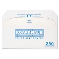 Premium Half-Fold Toilet Seat Covers, 250 Covers/Box, 10 Boxes/Carton