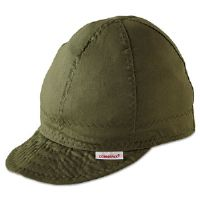 Single Sided Soft Brim Comfort Crown Cap, Cotton, Assorted Colors, Size 7 3/8