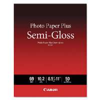 Photo Paper Plus Semi-Gloss, 69 lbs., 8-1/2 x 11, 50 Sheets/Pack