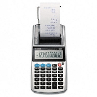 P1-DHV One-Color 12-Digit Printing Calculator, 12-Digit LCD, Purple