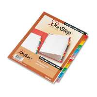 Traditional OneStep Index System-31-Tab, 1-31, Letter, Assorted, 31/Set-60118
