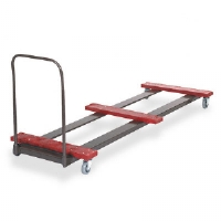 Table Truck, 8 Foot Rectangular, 10 - 12 Table Capacity
