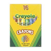 Classic Color Pack Crayons, Tuck Box, 16 Colors/Box