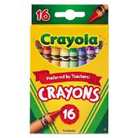 Classic Color Pack Crayons, 16 Colors/Box
