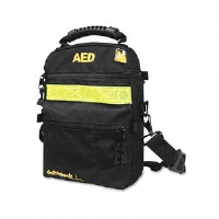 Soft Nylon Carrying Case for Lifeline AED Defibrillator/Accessories, Black