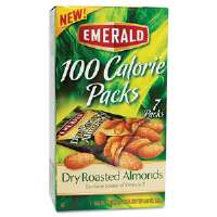 100 Calorie Pack Dry Roasted Almonds, .63 oz Packs, 7 Packs/Box