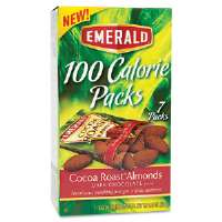 100 Calorie Pack Dark Chocolate Cocoa Roast Almonds, .63 oz Packs, 7 Packs/Box