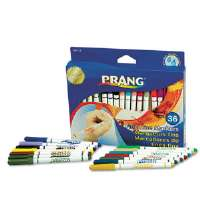 Prang Washable Markers, Fine Point, 36 Assorted Colors, 36/Set