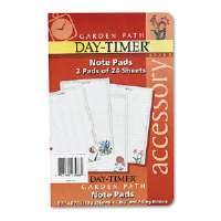 Garden Path Notepads w/Four Designs, 5-1/2 x 8-1/2