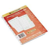 Dated Two Page-per-Month Organizer Refill, January-December, 5-1/2 x 8-1/2, 2013