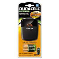 Quick Charger, 4 Pre-Charged Rechargeable NiMH Batteries