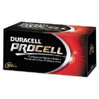 BATTERY,PROCELL,9V,12/BX