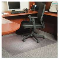 46x60 Rectangle Chair Mat, Multi-Task Series AnchorBar for Carpet up to 3/8""