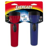 Eveready LED Economy Bright Light, Assorted, 2/PK