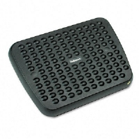 Standard Footrest, Adjustable, 17-5/8w x 13-1/8d x 3-3/4h, Graphite