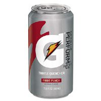Thirst Quencher Can, Fruit Punch, 11.6oz Can