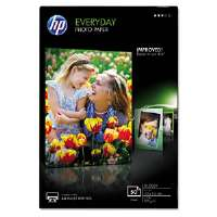 Everyday Glossy Photo Paper, 53 lbs., 4 x 6, 50 Sheets/Pack