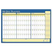 Nondated Reversible Laminated Organizer, 90/120 Day, 36 x 24-HOD637