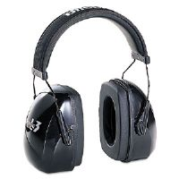 Leightning L3 Noise-Blocking Earmuffs, 30NRR, Black