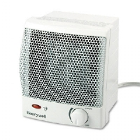 Quick Heat 1500W Ceramic Heater, Plastic Case, 6-1/2w x 6-1/4d x 7-1/4h