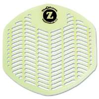 Z-Screen Deodorizing Urinal Screen, Orchard Zing, Green, 12/Box