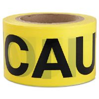 Caution Barricade Tape, 3 in x 300 ft
