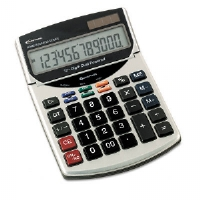 15966 Compact Desktop Calculator, 12-Digit LCD