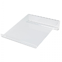 Multipurpose Acrylic Riser/Stand, Nonskid Pads, 9 x 11 x 2 1/4.