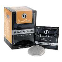 Coffee Pods, Breakfast Blend, Single Cup, 14/Box