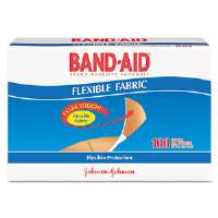 Flexible Fabric Premium Adhesive Bandages, 3/4 x 3, 100/Box