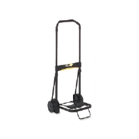Ultra-Lite Folding Cart, 200lb Capacity, 11 x 13-1/4 Platform, Black