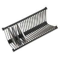 Stor-It Media File CD Rack, Holds 24 Slim/Std. Cases