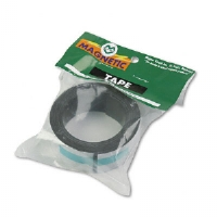 "Magnetic/Adhesive Tape, 1"" x 4 ft Roll"