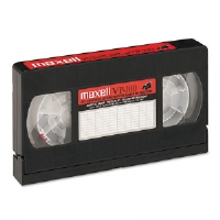 Maxell� Cleaning VHS Tape