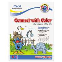 Writing Fundamentals Tablet, Connect with Color, 10 1/2 x 8, 22 Sheets per Pad