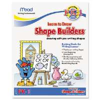 Writing Fundamentals Tablet, Shape Builders, 10 x 8, 21 Sheets per Pad