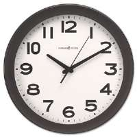 Kenwick Wall Clock, 13-1/2in, Black