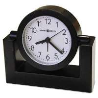 Tabletop Alarm Clock, 3-1/2in, Black