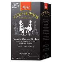 Coffee Pods, Vanilla Crme Brulee, 18 Pods/Box